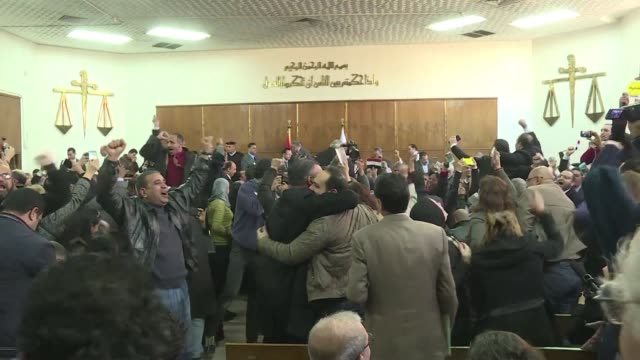 egypt's top administrative court upheld on monday a ruling voiding a government agreement to hand over two red sea islands to saudi arabia in deal... - courthouse stock videos & royalty-free footage