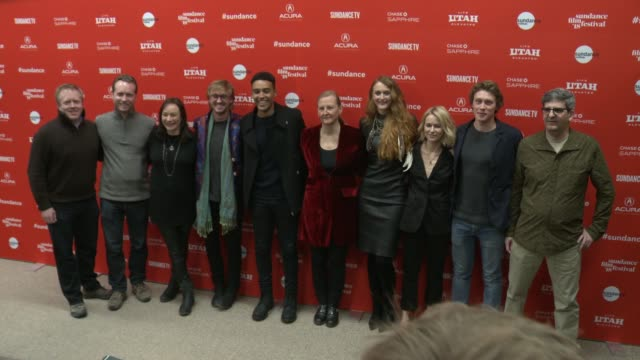 Ehren Kruger Paul Hanson Semi Chellas Tom Felton Devon Terrell Sarah Curtis Claire McCarthy Naomi Watts George MacKay and Daniel Bobker at the...