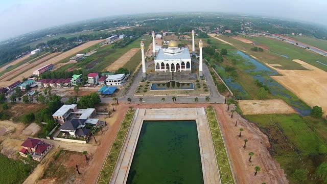 eid mubarak mosque place for ramadan mubarak - mt kinabalu stock videos and b-roll footage