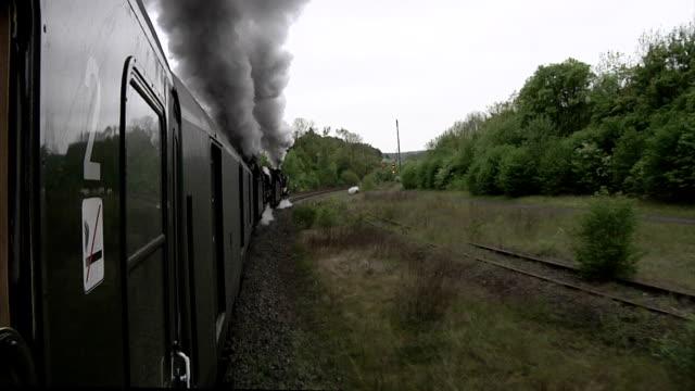 eifel steam express - locomotive stock videos & royalty-free footage