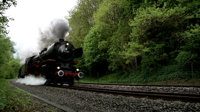 eifel steam express - steam train stock videos & royalty-free footage