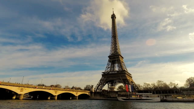 eiffel tower in paris france - eiffel tower stock videos and b-roll footage