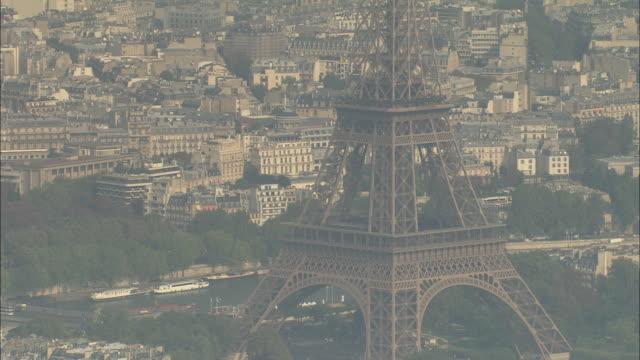 Eiffel Tower In Sun