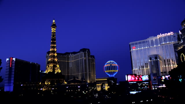 Eiffel Tower of Paris Hotel and Casino, Nevada, USA