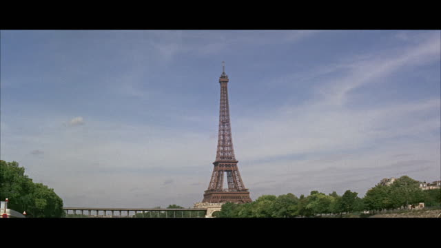 ws eiffel tower / paris, france - eiffel tower stock videos and b-roll footage