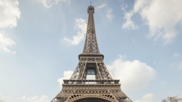 stockvideo's en b-roll-footage met eiffel toren parijs sunset - capital cities