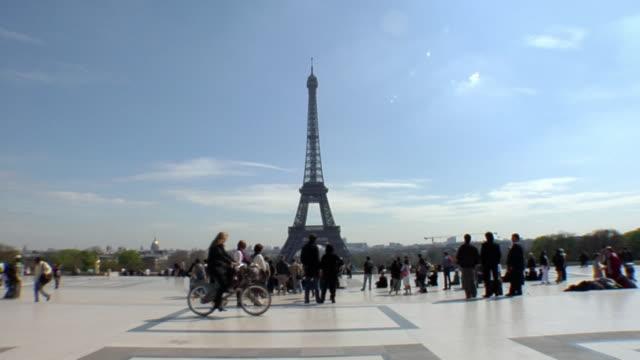 WS Eiffel Tower, Trocadero, Paris, France