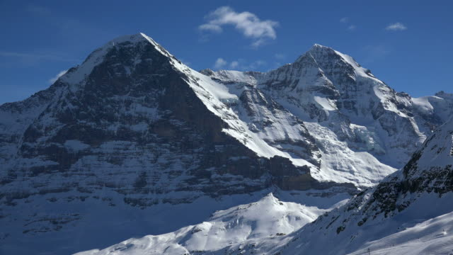 Eiger and Mönch, Grindelwald, Bernese Oberland, Canton of Bern, Switzerland