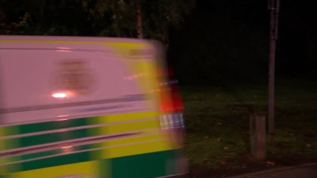 eight children injured when inflatable slide collapses in woking mother and mp calls for more regulation england surrey woking ambulance service... - itv weekend evening news stock-videos und b-roll-filmmaterial