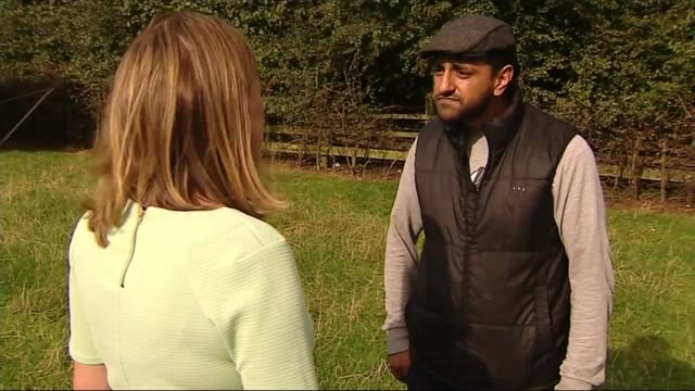 eight men found guilty of sexually exploiting teenage girls in rotherham october 2014 ext sageer hussain along with reporter cordelia lynch /... - lisaraye mccoy stock videos & royalty-free footage