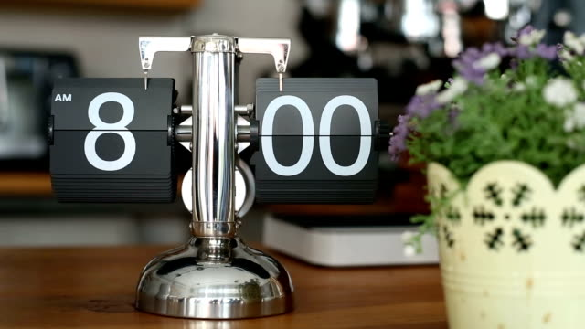 eight o'clock time for working - number 8 stock videos & royalty-free footage