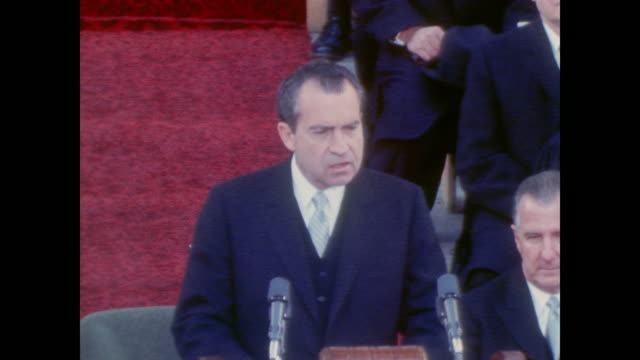 """vidéos et rushes de """"eight years from now america will celebrate its 200th anniversary as a nation. within the lifetime of most people now living, mankind will celebrate... - 1969"""