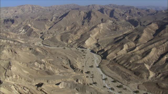 AERIAL WS Eilat Mountains, Eilat, Arava, Israel