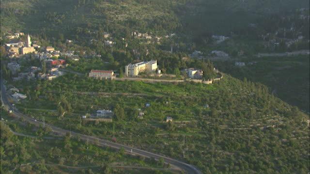 ein kerem neighbourhood in southwest jerusalem, israel - religiöse darstellung stock-videos und b-roll-filmmaterial