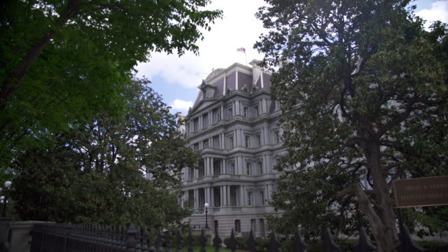 Eisenhower Executive Office Building - White House West in 4k/UHD