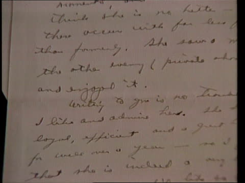 Eisenhower love letters CS Letter ZOOM IN CMS Selby Kiffer intvwd SOF if letters had been public knowledge during Pres election campaign Taft would...