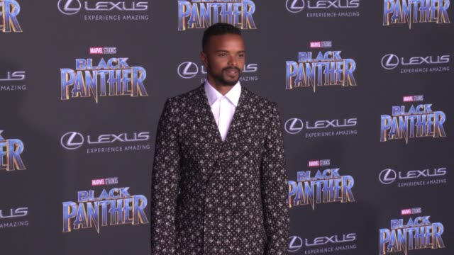 Eka Darville at the Marvel Studios' 'Black Panther' World Premiere at Dolby Theatre on January 29 2018 in Hollywood California
