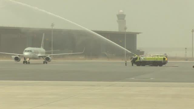 El aeropuerto internacional de Hamad en Doha que costo mas de 15000 millones de dolares espera llegar a recibir cincuenta millones de pasajeros...