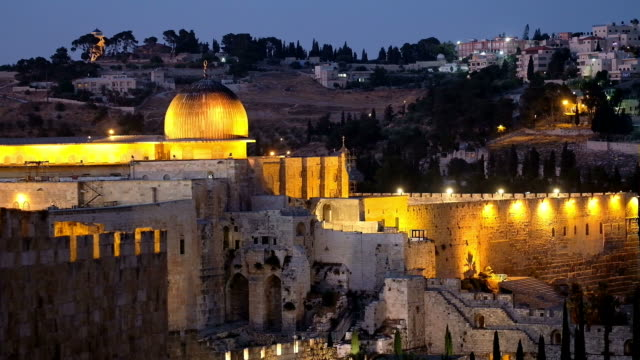 el aksa mosque - east jerusalem stock videos & royalty-free footage