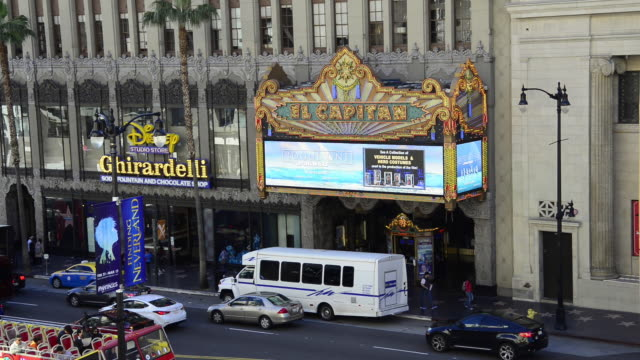 El Capitan Theatre in Hollywood