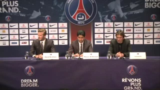 El centrocampista ingles David Beckham afirmo este jueves dia en el que se anuncio su fichaje por el Paris Saint Germain que su salario ira...