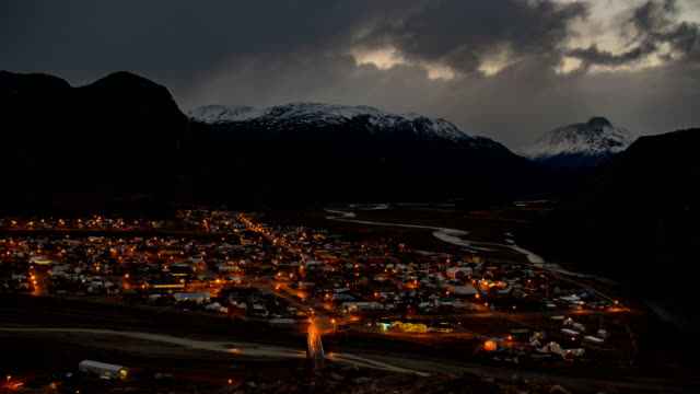 El Chalten, Patagonia Argentina Day To Night Timelapse