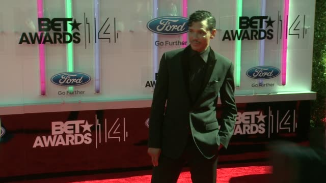 el debarge at the 2014 bet awards on june 29 2014 in los angeles california - bet awards stock videos and b-roll footage