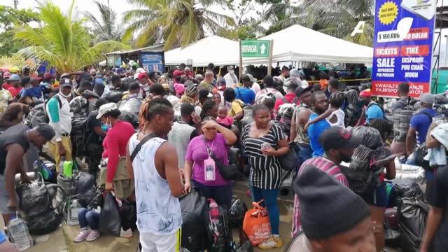 """vídeos y material grabado en eventos de stock de el defensor del pueblo de colombia, carlos camargo, pidió el jueves a las autoridades del país llevar a cabo un """"plan de choque humanitario"""" que... - llevar"""