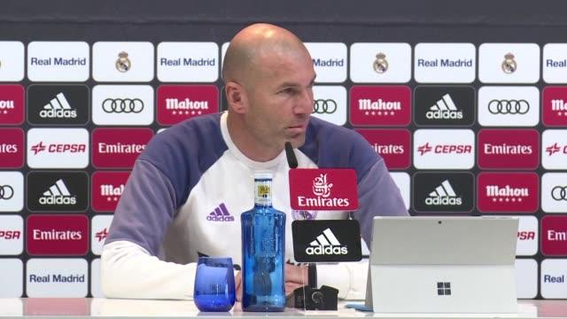 El entrenador del Real Madrid Zinedine Zidane afirmo que Cristiano Ronaldo no jugo el partido de octavos de final de la Copa del Rey contra el...