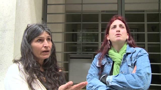 el estado de salud del exprisionero estadounidense de guantanamo jihad diyab refugiado en uruguay desde 2014 y en huelga de hambre hace mas de dos... - refugiado stock videos & royalty-free footage