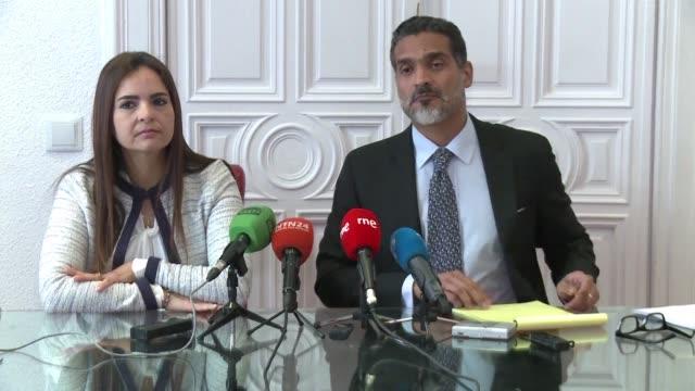 vídeos y material grabado en eventos de stock de el examen preliminar abierto por la corte penal internacional debe ser una advertencia para que el gobierno de venezuela cese en su política de... - política y gobierno
