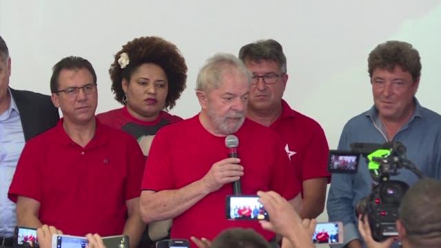 El exmandatario brasileno Luiz Inacio Lula da Silva aseguro el miercoles que espera extremadamente tranquilo el veredicto de un tribunal federal que...