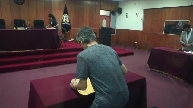 el exmandatario peruano alberto fujimori fue condenado este jueves a cumplir una nueva pena de ocho anos de prision por malversacion de fondos... - acanthaceae stock videos & royalty-free footage
