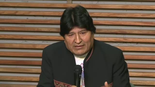 el expresidente boliviano evo morales refugiado en buenos aires considero un error juridico la decision del tribunal supremo electoral de su pais de... - refugiado stock videos & royalty-free footage