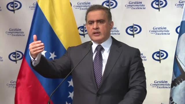 el fiscal general de venezuela tarek william saab aseguro el miercoles que las denuncias de la exprocuradora luisa ortega quien acuso en brasil al... - acanthaceae stock videos & royalty-free footage