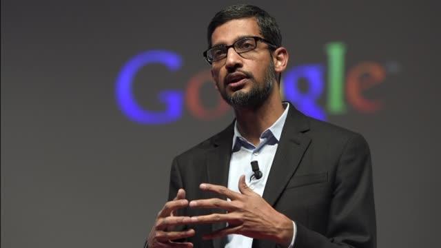 el gigante de internet google anuncio el lunes una reestructuracion corporativa al crear una nueva compania llamada alphabet en la que el motor de... - searching stock videos & royalty-free footage