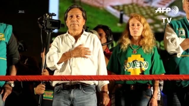El gobierno peruano le pidio al presidente estadounidense Donald Trump que deporte al exmandatario Alejandro Toledo acusado de recibir sobornos por...