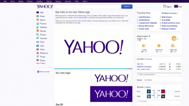 El grupo de internet Yahoo anuncio haber sido victima a fines de 2014 de un masivo ataque informatico cometido por una entidad probablemente...