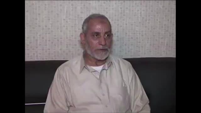 el guia supremo de los hermanos musulmanes fue condenado a muerte el jueves - guia stock videos & royalty-free footage