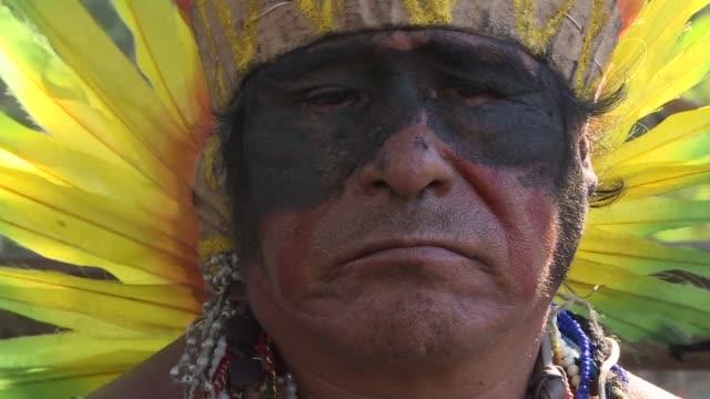 el incendio del museo nacional de rio causo una perdida irreparable a las culturas indigenas comparable a la invasion europea de 1500 afirmo jose... - etnia stock videos and b-roll footage