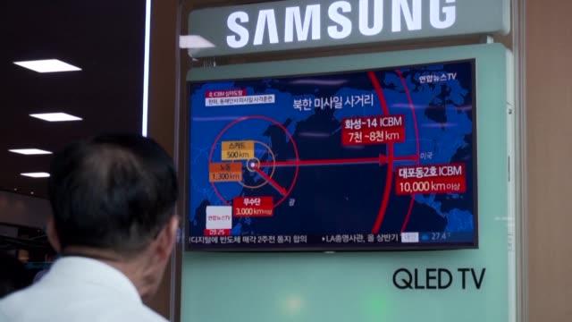 vídeos y material grabado en eventos de stock de el lider norcoreano kim jong un aseguro el sabado que todo el territorio continental de estados unidos esta ahora a su alcance tras la prueba exitosa... - viernes