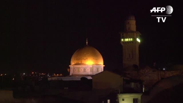 el llamado a la oracion en las mezquitas de israel a horas avanzadas de la noche o al alba podria ser silenciado por un proyecto de ley israeli que... - palestina stock videos and b-roll footage