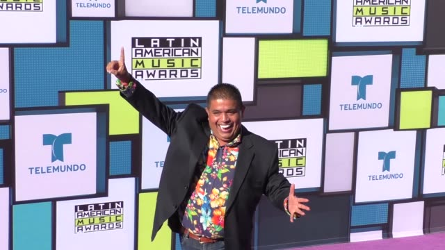 El Mandril at the 2016 Latin American Music Awards at Dolby Theatre in Hollywood at 2016 Latin American Music Awards on October 06 2016 in Hollywood...