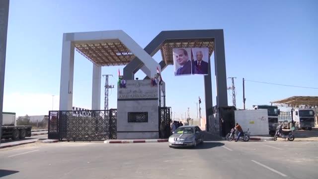 el movimiento islamista hamas en el poder desde hace una decada en la franja de gaza cedio el miercoles a la autoridad palestina el control de los... - palestina stock videos and b-roll footage