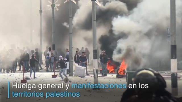el movimiento islamista hamas llamo el jueves a una nueva sublevacion palestina conocida como intifada contra el reconocimiento por parte de estados... - palestina stock videos and b-roll footage