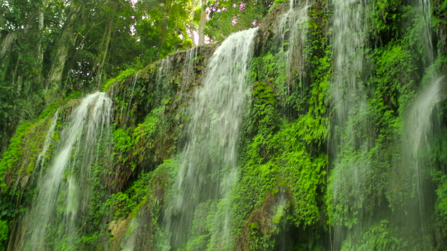 el nicho waterfall, cuba - sancti spiritus province stock videos and b-roll footage