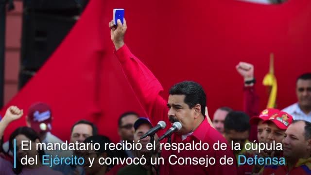 vídeos y material grabado en eventos de stock de el parlamento venezolano de mayoria opositora aprobo un procedimiento para llevar a juicio al presidente nicolas maduro a cuyo gobierno acusan de no... - llevar