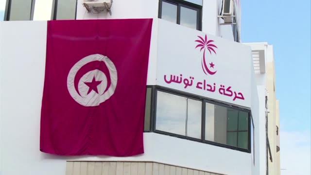 el partido laico nidaa tunes se impuso en las legislativas celebradas en tunez el pasado domingo frente a su rivales islamistas de ennahda segun los... - 2014 stock videos and b-roll footage