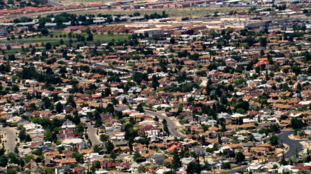 el paso suburbs. shot in 2007. - artbeats stock videos & royalty-free footage