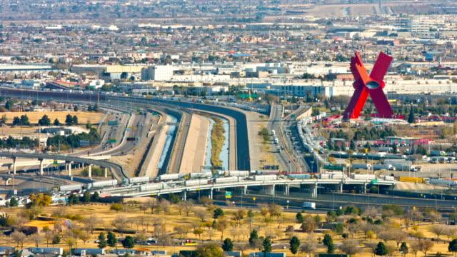 El Paso TX and Ciudad de Juarez Chijuajua border